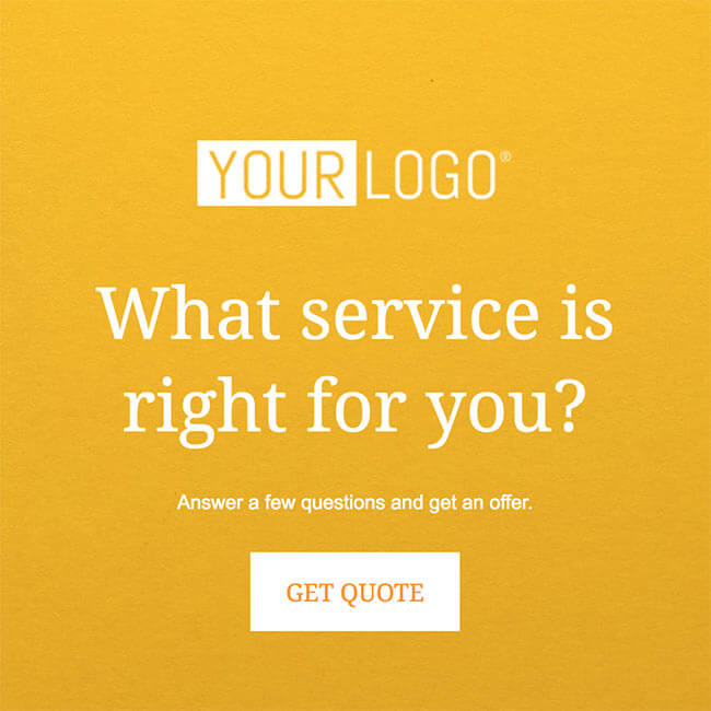 quote service template